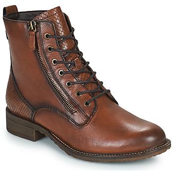 kengät Naiset Bootsit Tamaris PEPIR Ruskea