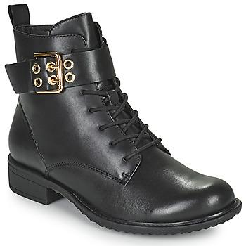 kengät Naiset Bootsit Tamaris MOULIB Musta