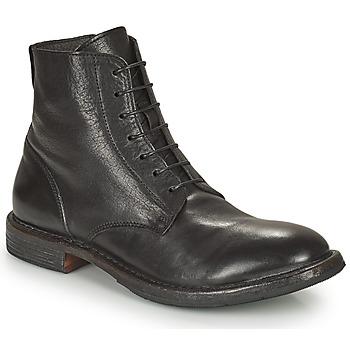 kengät Miehet Bootsit Moma MINSK Musta
