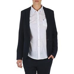 vaatteet Naiset Takit / Bleiserit Marc O'Polo CLOTHILDE Laivastonsininen