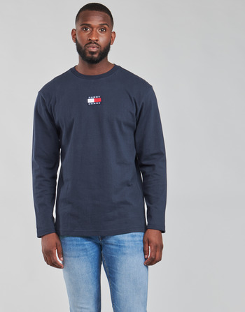 Tommy Jeans TJM LS TOMMY BADGE TEE