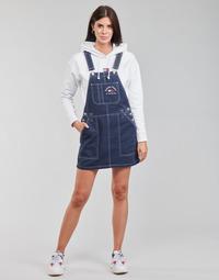 vaatteet Naiset Jumpsuits / Haalarit Tommy Jeans TJW TIMELESS DUNGAREE DRESS Sininen