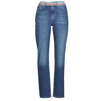 vaatteet Naiset Suorat farkut Tommy Hilfiger NEW CLASSIC STRAIGHT HW A LEA Sininen