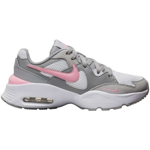 kengät Lapset Matalavartiset tennarit Nike Air Max Fusion PS CJ3825 Grey