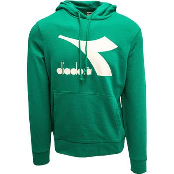 vaatteet Miehet Svetari Diadora Big Logo Vihreä