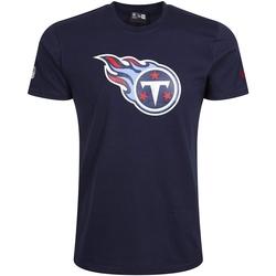 vaatteet Miehet Lyhythihainen t-paita New-Era Tennessee Titans Team Logo Sininen