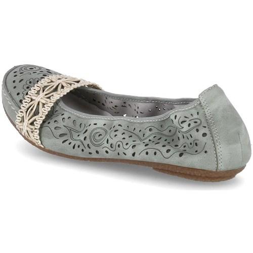 kengät Naiset Balleriinat Rieker 4146652 Vihreät