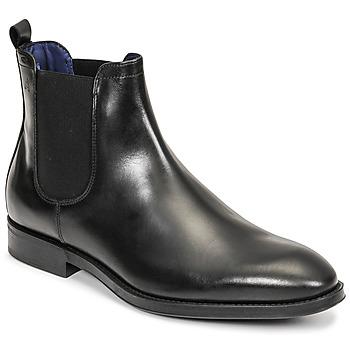 kengät Miehet Bootsit Azzaro SEVILLE Musta