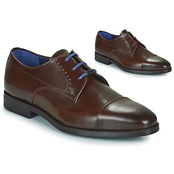 kengät Miehet Derby-kengät Azzaro GARONNE Konjakki