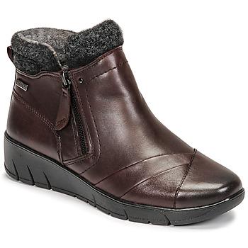 kengät Naiset Bootsit Jana GHERRA Viininpunainen