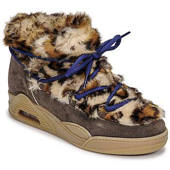 kengät Naiset Bootsit Serafini MOON LOW Leopardi