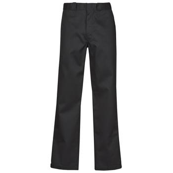 vaatteet Miehet 5-taskuiset housut Dickies ORIGINAL FIT STRAIGHT LEG WORK PNT Musta