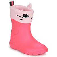 kengät Tytöt Kumisaappaat Isotoner 99314 Vaaleanpunainen