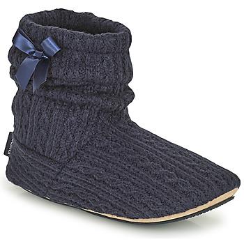 kengät Naiset Tossut Isotoner 97720 Laivastonsininen