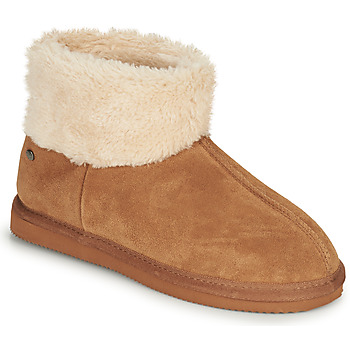 kengät Naiset Tossut Isotoner 97307 Kamelinruskea