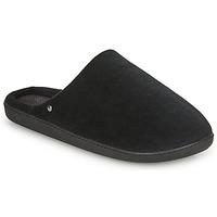 kengät Miehet Tossut Isotoner 98032 Musta