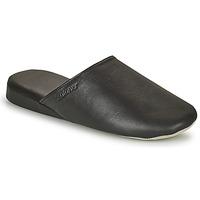 kengät Miehet Tossut Isotoner 96607 Musta