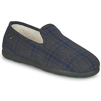 kengät Miehet Tossut Isotoner 98038 Harmaa / Sininen
