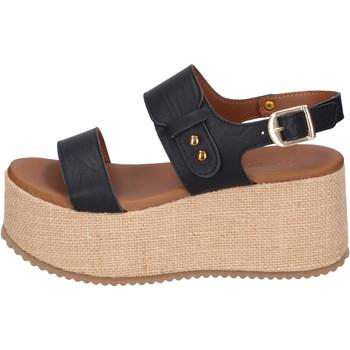 kengät Naiset Sandaalit ja avokkaat Sara Collection Sandaalit BJ920 Musta