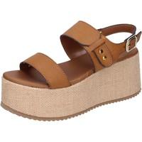 kengät Naiset Sandaalit ja avokkaat Sara Collection Sandaalit BJ921 Ruskea