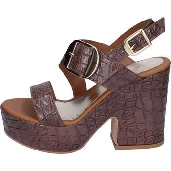 kengät Naiset Sandaalit ja avokkaat Sara Collection Sandaalit BJ924 Ruskea