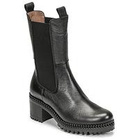 kengät Naiset Nilkkurit Wonders H-3930 Musta