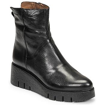 kengät Naiset Bootsit Wonders E-6232 Musta
