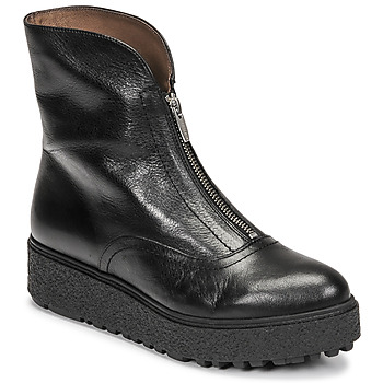 kengät Naiset Bootsit Wonders A-9520 Musta