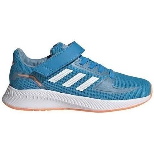 kengät Lapset Juoksukengät / Trail-kengät adidas Originals Runfalcon 20 C Vaaleansiniset
