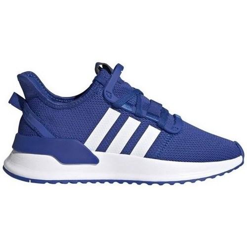 kengät Lapset Matalavartiset tennarit adidas Originals Upath Run J Vaaleansiniset