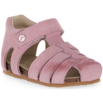 kengät Tytöt Urheilukengät Naturino FALCOTTO 0M02 ALBY PINK Rosa