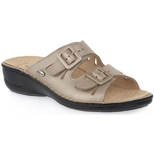 kengät Naiset Sandaalit Grunland PLATINO 68 SARA Beige