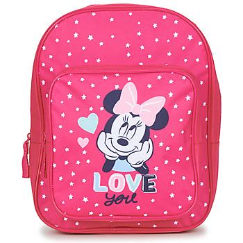 laukut Tytöt Reput Disney SAC A DOS MINNIE 23 CM Vaaleanpunainen