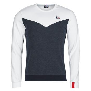 vaatteet Miehet Svetari Le Coq Sportif SAISON 1 CREW SWEAT N 1 Laivastonsininen / Valkoinen