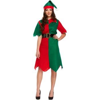 vaatteet Naiset Lyhyt mekko Christmas Shop CS086 Green/Red