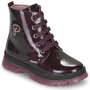 kengät Tytöt Bootsit Pablosky 404099 Viininpunainen