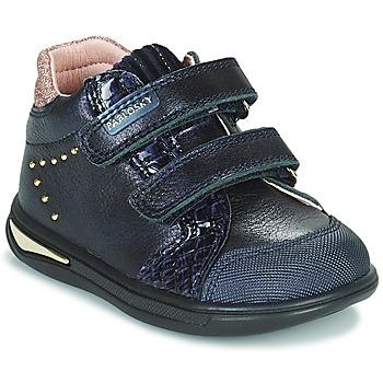 kengät Tytöt Korkeavartiset tennarit Pablosky 6122 Laivastonsininen