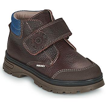 kengät Pojat Bootsit Pablosky 502993 Ruskea