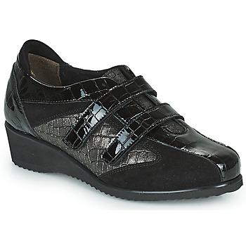 kengät Naiset Matalavartiset tennarit Scholl DOREEN STRAP Musta