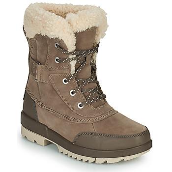 kengät Naiset Bootsit Sorel TORINO II PARC BOOT Taupe