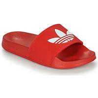 kengät Rantasandaalit adidas Originals ADILETTE LITE Punainen