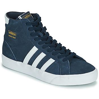 kengät Korkeavartiset tennarit adidas Originals BASKET PROFI Laivastonsininen