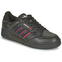 kengät Matalavartiset tennarit adidas Originals CONTINENTAL 80 STRI Musta / Sininen / Punainen