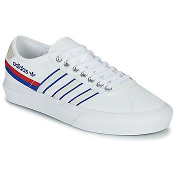 kengät Matalavartiset tennarit adidas Originals DELPALA Valkoinen / Sininen