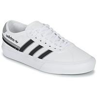 kengät Matalavartiset tennarit adidas Originals DELPALA Valkoinen / Musta