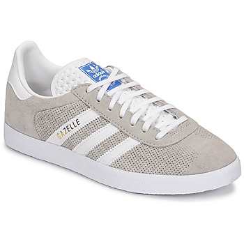 kengät Matalavartiset tennarit adidas Originals GAZELLE Harmaa / Creme