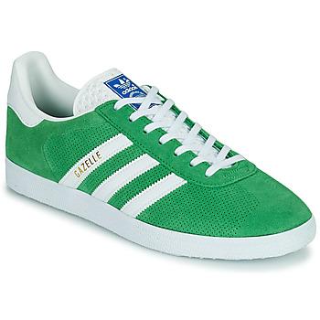 kengät Matalavartiset tennarit adidas Originals GAZELLE Vihreä
