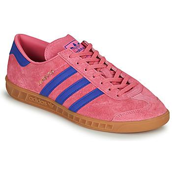 kengät Matalavartiset tennarit adidas Originals HAMBURG Vaaleanpunainen / Sininen
