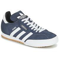 kengät Matalavartiset tennarit adidas Originals SUPER SUEDE Laivastonsininen / Sininen