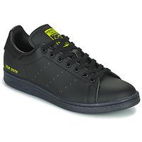 kengät Matalavartiset tennarit adidas Originals STAN SMITH Musta / Keltainen